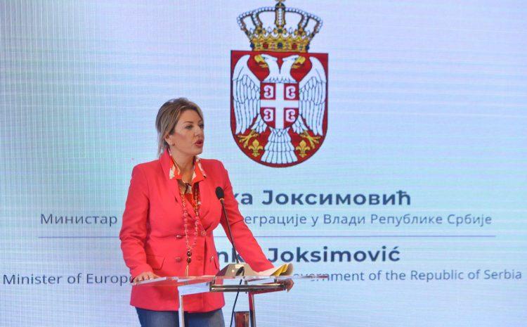 J. Joksimović:歐盟 PRO 促進平等的領土發展